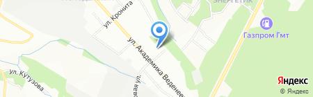 Детский сад №144 на карте Перми