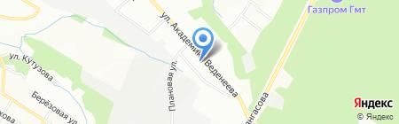 Венера на карте Перми