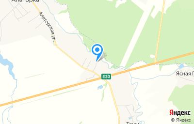 Местоположение на карте пункта техосмотра по адресу Респ Башкортостан, Иглинский р-н, село Алаторка, ул Тереховецкая, д 2/1А
