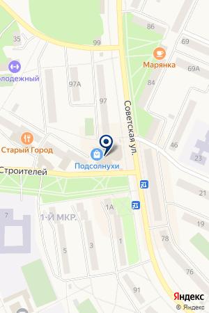 ИНВЕСТИЦИОННАЯ КОМПАНИЯ СОЮЗ-ИНВЕСТ на карте Добрянки