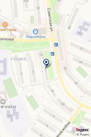 МАГАЗИН СТРОИТЕЛЬНЫХ ТОВАРОВ ПАНОВ А.С. на карте Добрянки
