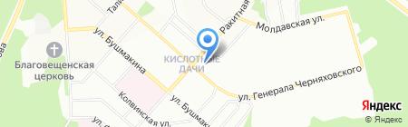 Средняя общеобразовательная школа №131 на карте Перми