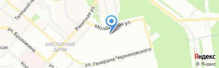 О`Жен на карте Перми