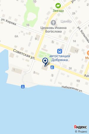 МЕБЕЛЬНЫЙ МАГАЗИН АТОВА Л.А. на карте Добрянки