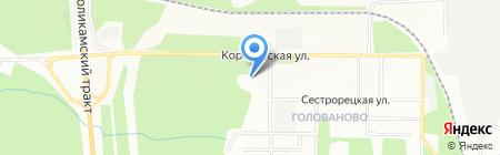 АМИКС на карте Перми