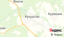 Отели города Кукуштан на карте