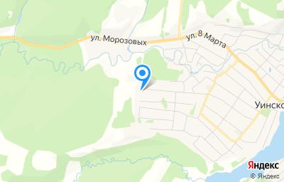 Местоположение на карте пункта техосмотра по адресу Пермский край, с Уинское, ул Дальняя, д 21