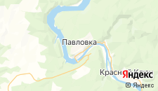 Отели города Павловка на карте