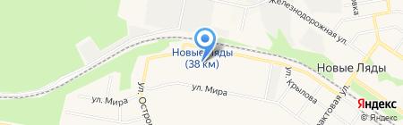Елочка на карте Перми
