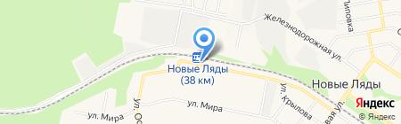 Новые Ляды на карте Перми