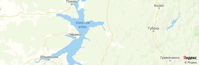Пермский край на карте