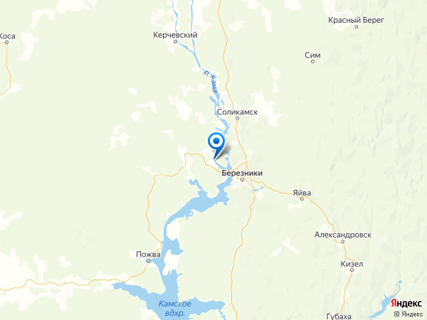 село Пыскор на карте