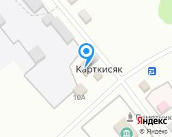 Схема местоположения почтового отделения 452899