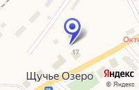 Схема проезда до компании ПРОДУКТОВЫЙ МАГАЗИН в Октябрьском