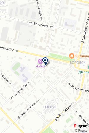 СОЛИКАМСКИЙ ХУДОЖЕСТВЕННЫЙ КОЛЛЕДЖ на карте Соликамска