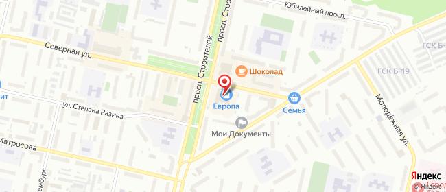Карта расположения пункта доставки СИТИЛИНК в городе Соликамск