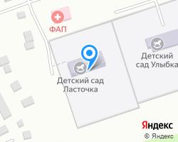 Схема местоположения почтового отделения 453040