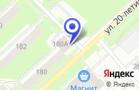 Схема проезда до компании АГЕНТСТВО НЕДВИЖИМОСТИ УСПЕХ в Соликамске