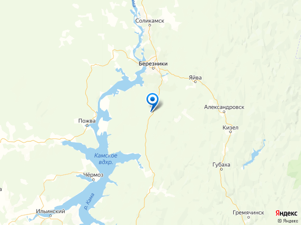 село Романово на карте