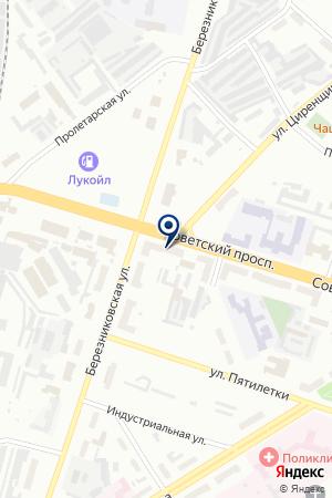 АВТОМАГАЗИН ТЫЧКИН А.В. на карте Березников