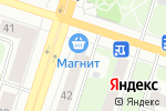 Схема проезда до компании Магнит в Березниках