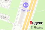 Схема проезда до компании Красная юбка в Березниках