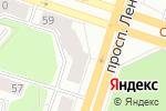 Схема проезда до компании Красное & Белое в Березниках