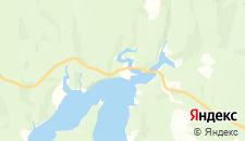 Гостиницы города Усть-Шалашная на карте