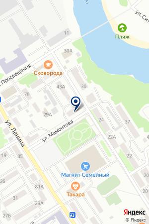 ГУ ИНСПЕКЦИЯ РЫБООХРАНЫ на карте Кунгура