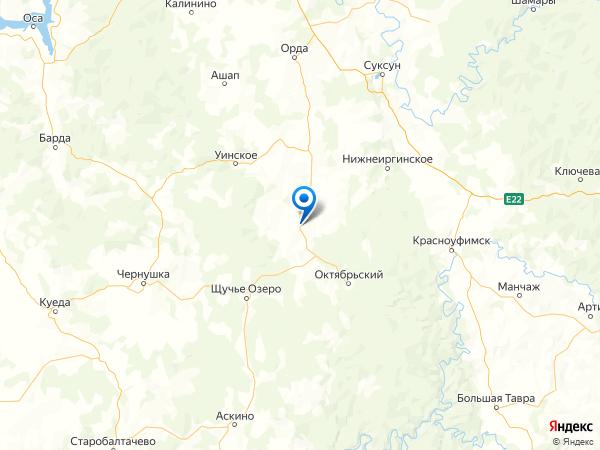 село Богородск на карте
