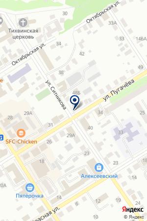 ПТФ ПИКОН на карте Кунгура