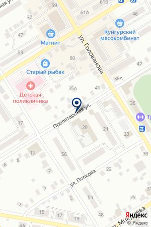 МАГАЗИН СТРОЙМАТЕРИАЛОВ ТЕХНИК на карте Кунгура