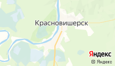 Отели города Красновишерск на карте