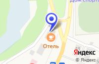 Схема проезда до компании МАГАЗИН ДЕЛИКАТ в Красновишерске