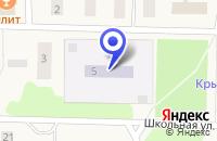 Схема проезда до компании ДЕТСКИЙ САД № 12 в Красновишерске