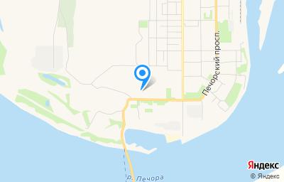 Местоположение на карте пункта техосмотра по адресу Респ Коми, г Печора, ул Западная, д 2Ж