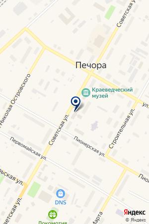 БУРОВАЯ КОМПАНИЯ СИЛУР на карте Печоры