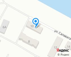 Схема местоположения почтового отделения 456012
