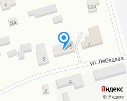 Схема местоположения почтового отделения 456015