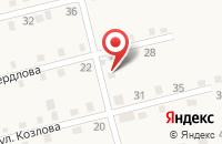 Схема проезда до компании Уралресурс-Групп в Аше