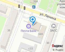 Схема местоположения почтового отделения 456010