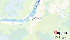 Отели города Вуктыл на карте