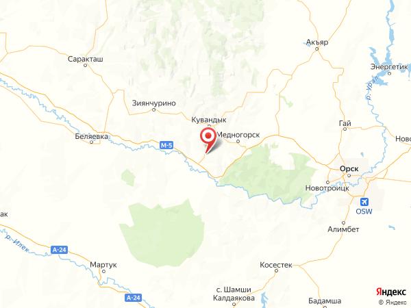 деревня Адаево на карте