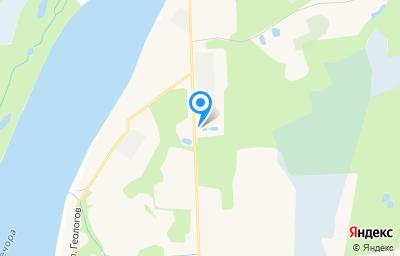 Местоположение на карте пункта техосмотра по адресу Респ Коми, г Вуктыл, тер Производственная зона