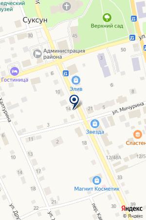 СУКСУНСКАЯ КОММУНАЛЬНАЯ СЛУЖБА на карте Суксуна