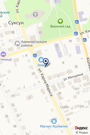 МАГАЗИН БЫТОВОЙ ТЕХНИКИ ОРИОН на карте Суксуна