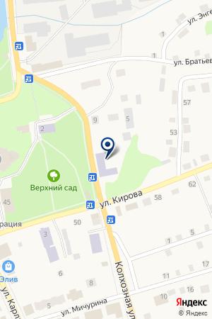 ДЕТСКИЙ САД на карте Суксуна