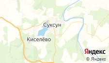 Отели города Суксун на карте