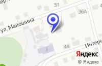 Схема проезда до компании ДЮСШ в Суксуне