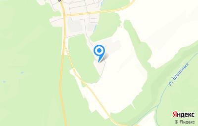 Местоположение на карте пункта техосмотра по адресу Пермский край, рп Суксун, ул Урочище Шатлынская перемена, д 2